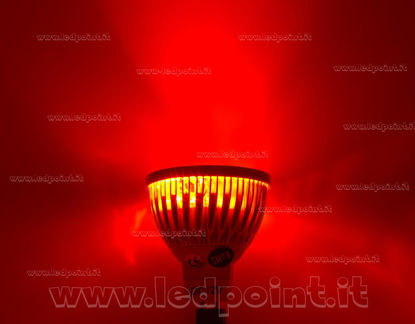 Picture of Spotlight 4x1W 12V AC/DC with MR16 (GU5.3) base, red light