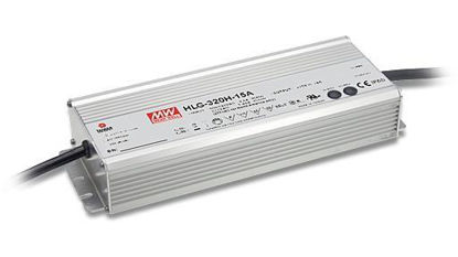 Picture of Mean Well power supply, 24V, 320W, dimming function (1~10Vdc, PWM or resistance), IP67