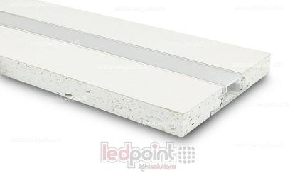 Immagine di Profilo in alluminio con cartongesso 44x12mm, 2 metri