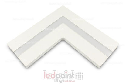 Picture of L connection for aluminium profile with plasterboard 44x12mm
