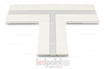 Picture of T connection  for aluminum profile with plasterboard 44x12mm