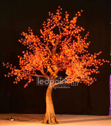 Picture of Cherry tree 2,8 m high RGB 24V with hidden cables