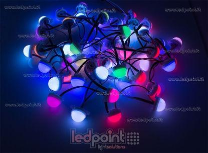 Immagine di Modulo catena punti led RGB 30mm