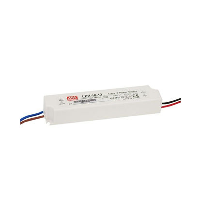 Picture of Mean Well power supply, 18W, 12V, IP67