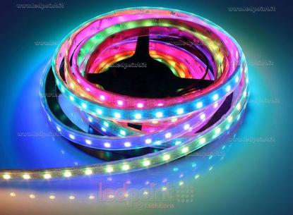 Immagine di Striscia led 5m Control RGB 5050 60led/m 5V 13W/m, IP64 tubo silicone vuoto