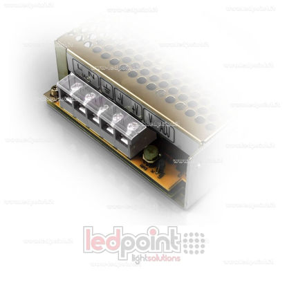 Picture of Terminal cover for Mean Well's power supplies with 5 poles; LRS-35, LRS-50 e LRS-75