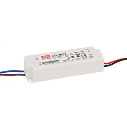Picture of Mean Well IP67 power supply, 20W, 12V (LPV-20-12)