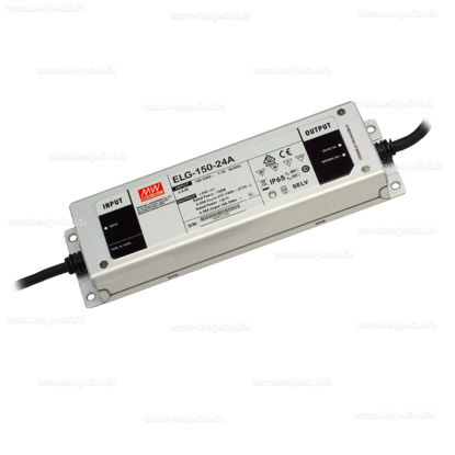 Picture of Mean Well power supply, 24V, 150W, IP65 (ELG150-24A)