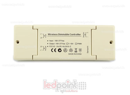 Picture of 0-10V controller (100-277V AC) with inner antenna IP20 for ZigBee technology