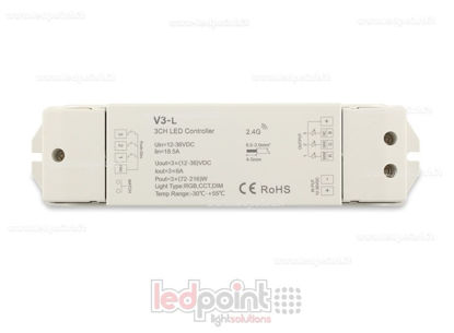 Picture of RGB controller 12-36V, 3ch*6A, RF 2.4G