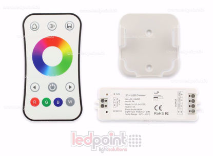 Picture of Kit remote + RGB controller 12/24V, 3ch*4A, RF 2.4G