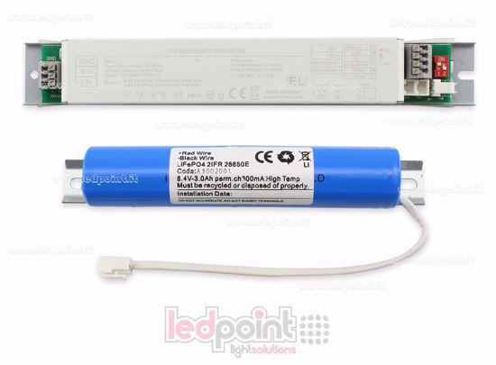 Bild von Notstromautonomie 3h Batterie 3A LiFePO4, 5W 300mA 10-60V 230V