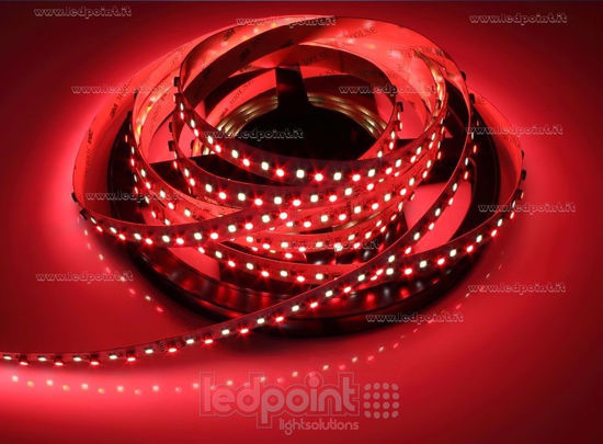Bild von LED-Streifen 5m RGB 3535 + neutral-weiß 4000K 3step 2835 140LEDs/m 24V 28,8 W/m