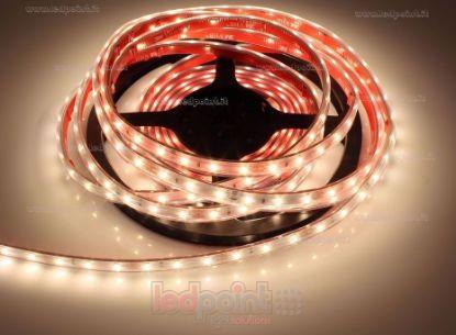 Bild von LED-Streifen 5m warm-weiß 3000K 3step 2835 60LEDs/m 12V 4,8W/m, IP64 dicker Syliconrohr