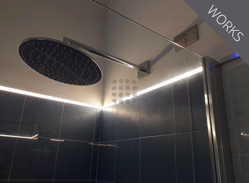Illuminazione box doccia
