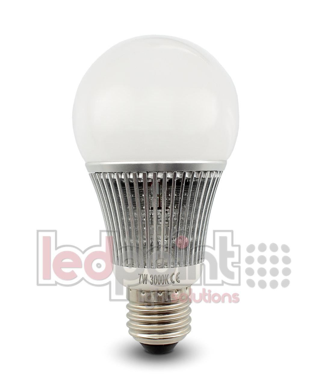 led light bulb warm white 2900 3100k 7w e27 base. Black Bedroom Furniture Sets. Home Design Ideas