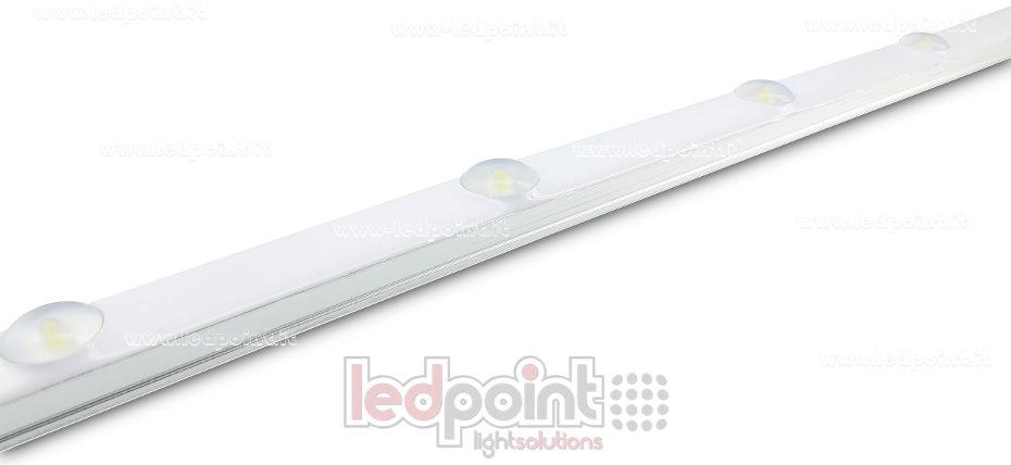 led lichtleiste wasserdicht 50cm 6000k 6leds 2835 24v. Black Bedroom Furniture Sets. Home Design Ideas