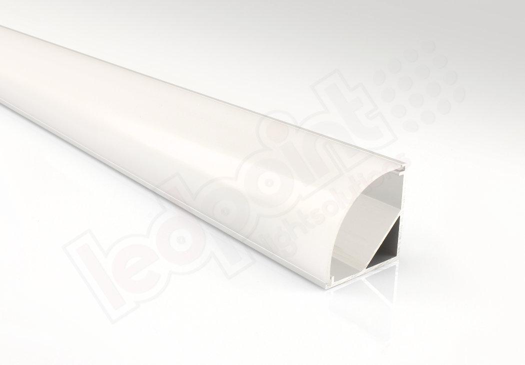 Profilo in alluminio angolare 30mm, 2 metri | Ledpoint S.r.l.