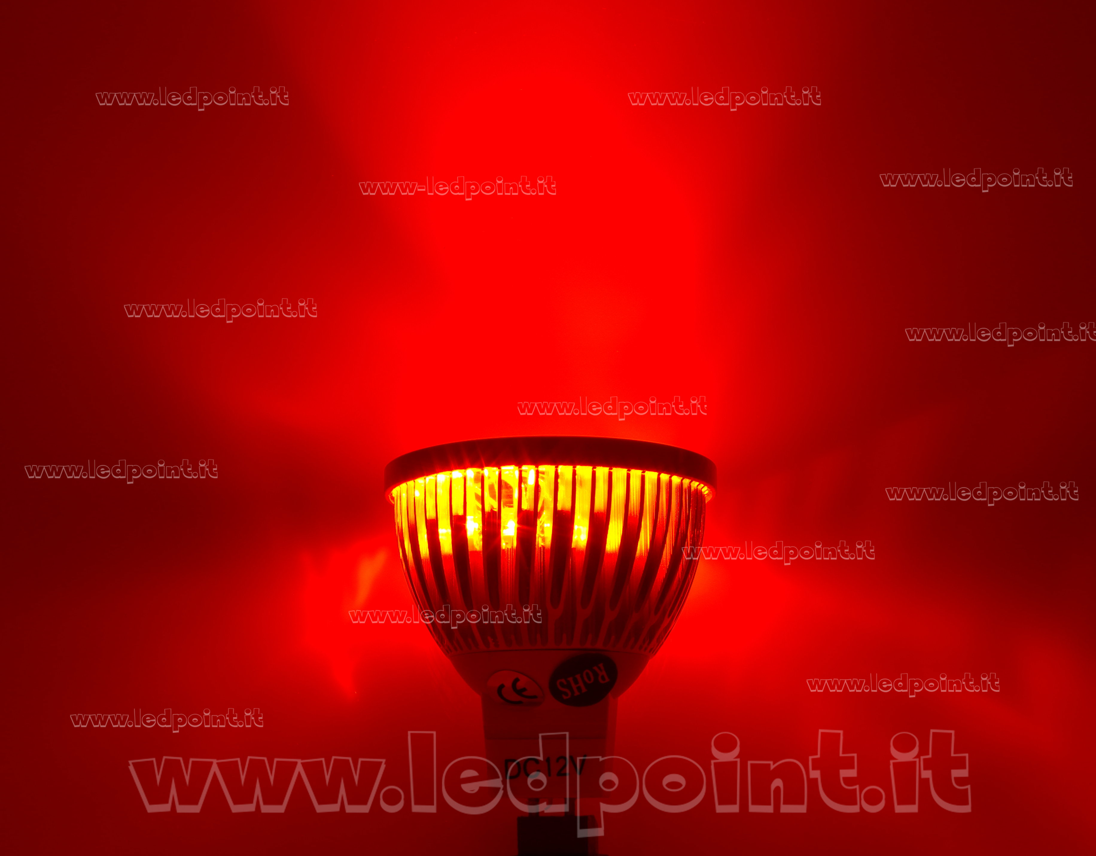 SL04MR16-RED-211_on_LP Faszinierend Led Leuchtmittel 12v Gu5.3 Dekorationen