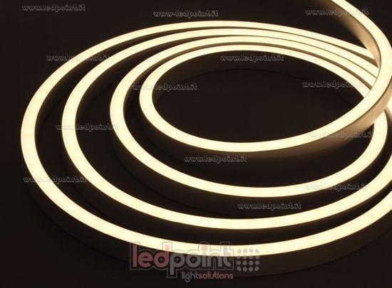 Led Neon Flex 11mm warm white 3000K 5050 24V 12W 60led/m