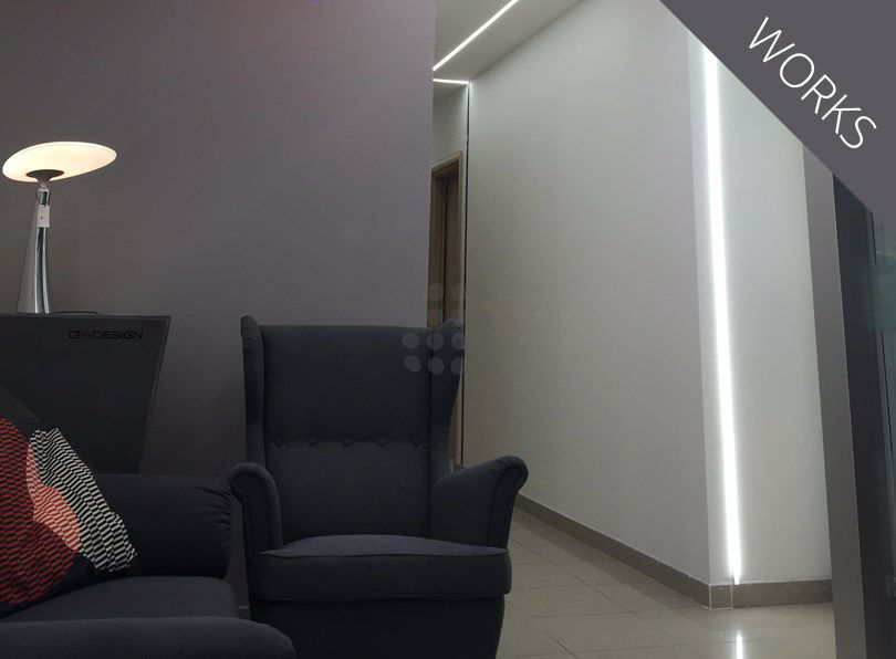 Illuminazione ufficio ledpoint s r l