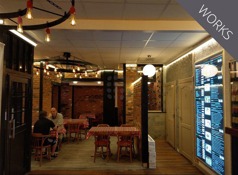 Illuminazione Emergenza Ristorante : Illuminazione ristorante ledpoint s r l